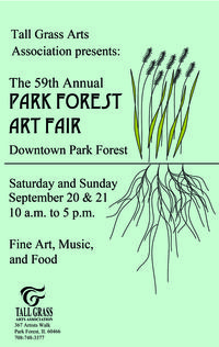 59th art fair postcard 2014