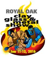 Royal Oak Clay, Glass & Metal Show