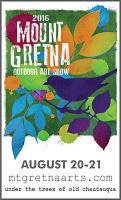 Mount Gretna art fair
