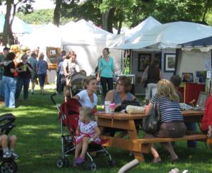 2012 Art Fair Customers