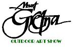 Mt gretna Outdoor art show