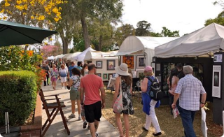 Winter Park Sidewalk Arts Festival - ranked #3 show in the country in 2017