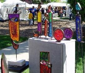 Pishgahi glass sculpture