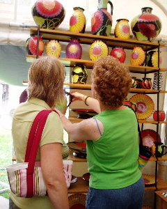 Pottery Ann Arbor Art Fair