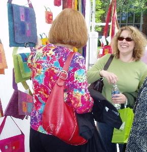 Fiber at Birmingham Art Fair