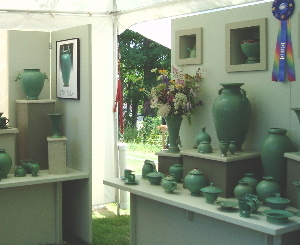 Pottery at St. Joe Art Fair